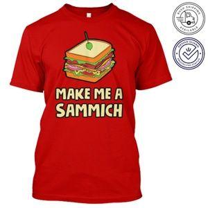 Make Me a Sandwich t-shirt size L